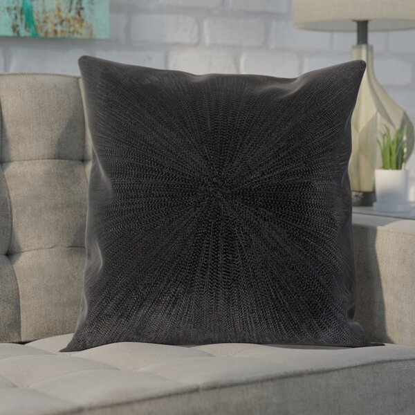 Baran Cotton Throw Pillow by Wade Logan