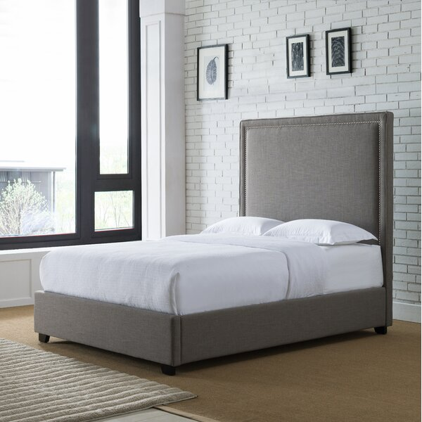 Chere Upholstered Standard Bed by Darby Home Co