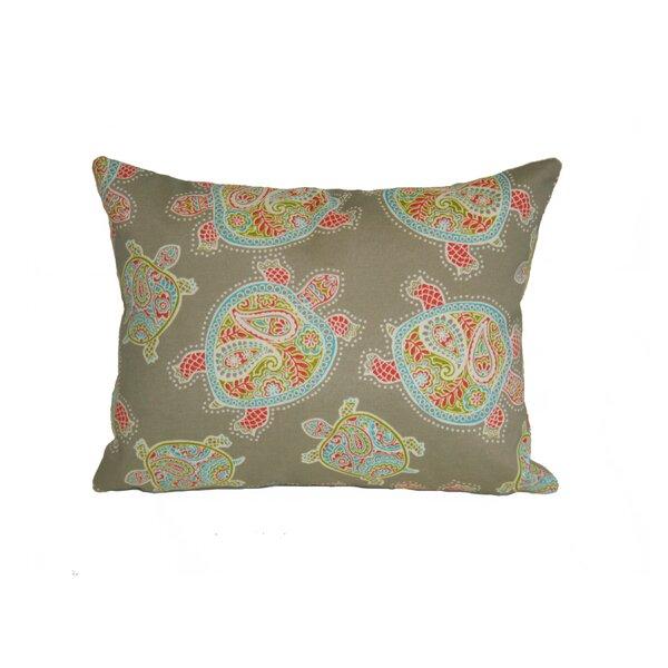 Sunbury Tranquil Turtles Indoor/Outdoor Lumbar Pillow