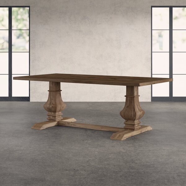 Tekamah Pine Solid Wood Dining Table by Greyleigh Greyleigh