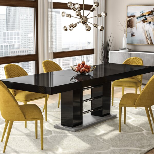 Pocomoke Extendable Dining Table by Wade Logan