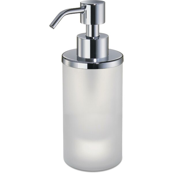 Mariani Frosted Glass Table Pump Soap and Lotion Dispenser by Latitude Run