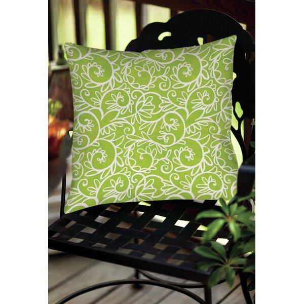 Sandefur Pattern Indoor/Outdoor Throw Pillow by Latitude Run