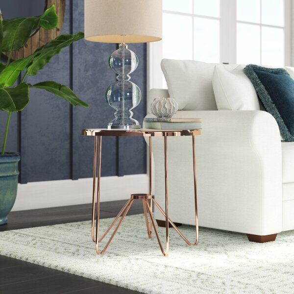 Bock End Table by Wrought Studio