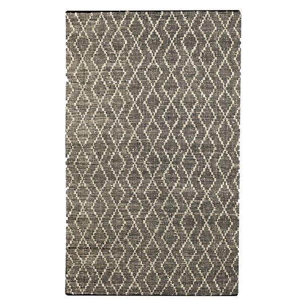 Arlosh Handwoven Brown Area Rug by Ivy Bronx