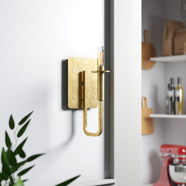 Emmett 1-Light Wall Sconce by Langley Street
