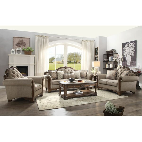 Looking for Palmyre Configurable Living Room Set By One Allium Way Sale
