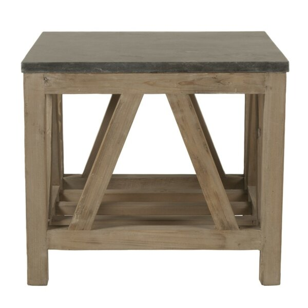 Declan Wooden End Table by Foundry Select
