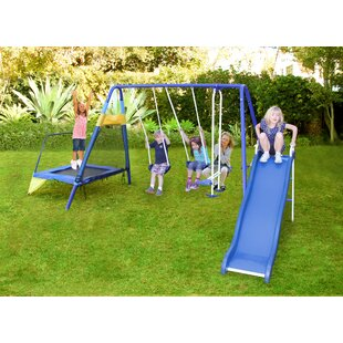 Metal Swing Sets You Ll Love Wayfair