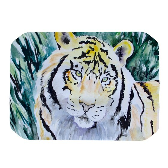 Tiger Placemat by KESS InHouse