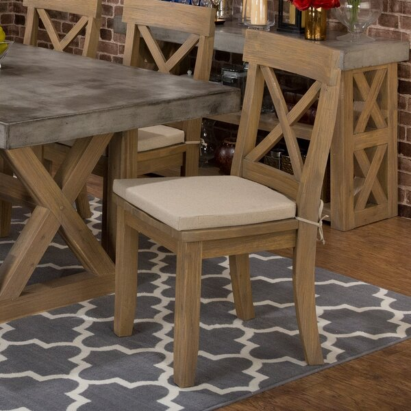 Alemany Solid Wood Dining Chair (Set of 2) by August Grove