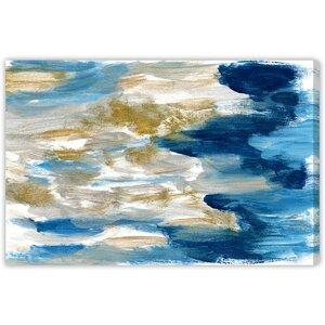 Sardinia Painting Print on Wrapped Canvas by Latitude Run