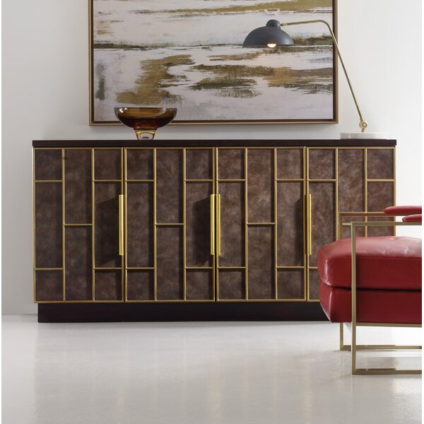 Melange Neils 4 Door Credenza by Hooker Furniture