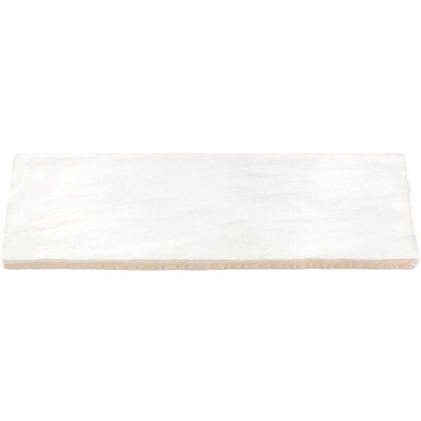 Amagansett 2 x 8 Ceramic Subway Tile in White by Splashback Tile
