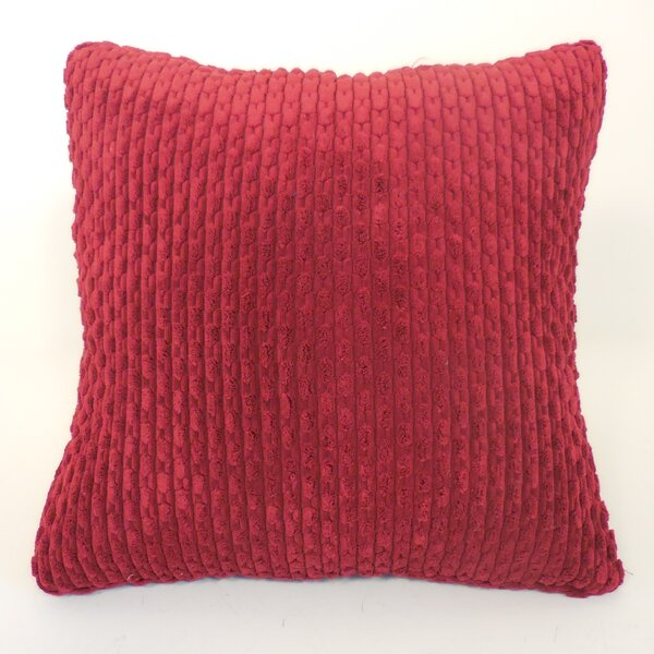 Scarlett Ribbed Plush Toss Throw Pillow (Set of 2) by Langley Street