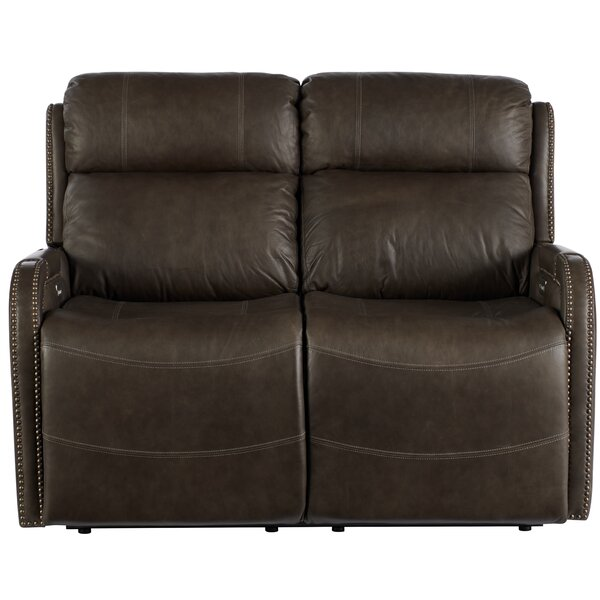 Dutson Leather Reclining 54