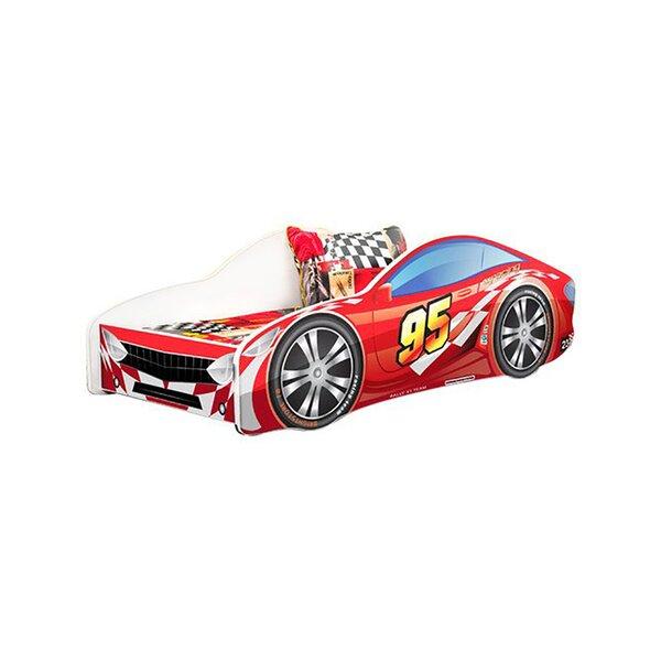 Kids Bed Race Twin Car by Zoomie Kids