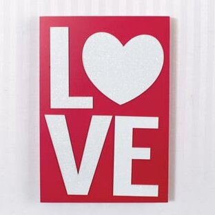Love Wall Decor by Adams & Co