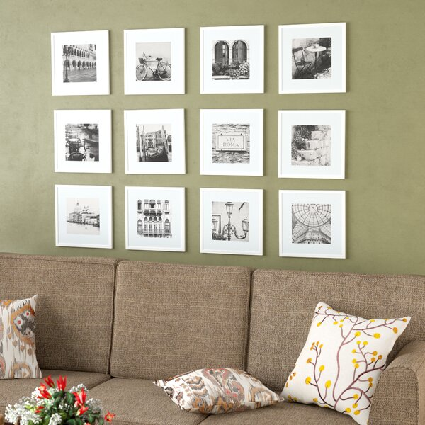 Noland 12 Piece Matted Picture Frame Set by Andover Mills