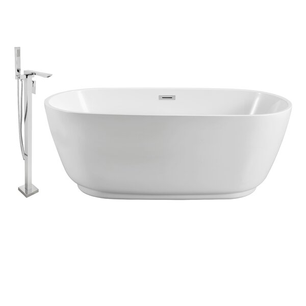 59 x 22 Freestanding Soaking Bathtub by Wildon Home ®
