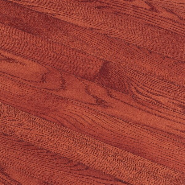 Fulton 3-1/4 Solid Red / White Oak Hardwood Flooring in Cherry by Bruce Flooring