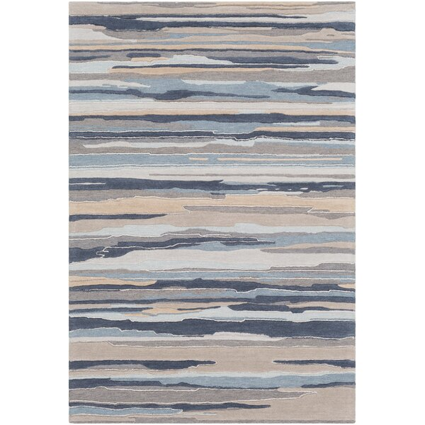Farlow Navy/Gray Indoor/Outdoor Area Rug by Wrought Studio