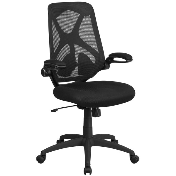 Wyndmoor High-Back Mesh Desk Chair by Symple Stuff