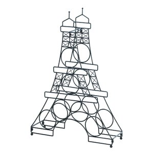 Eiffel Tower 6 Bottle Tabletop Wine Rack by Zingz & Thingz