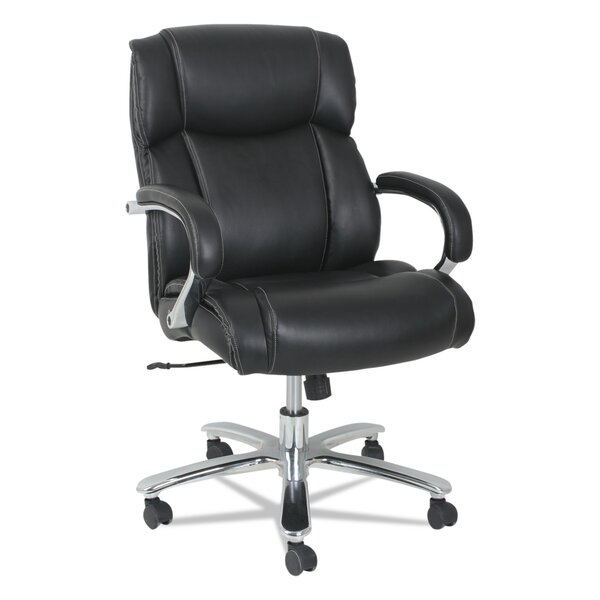 Aracely Genuine Leather Office Chair by Symple Stuff