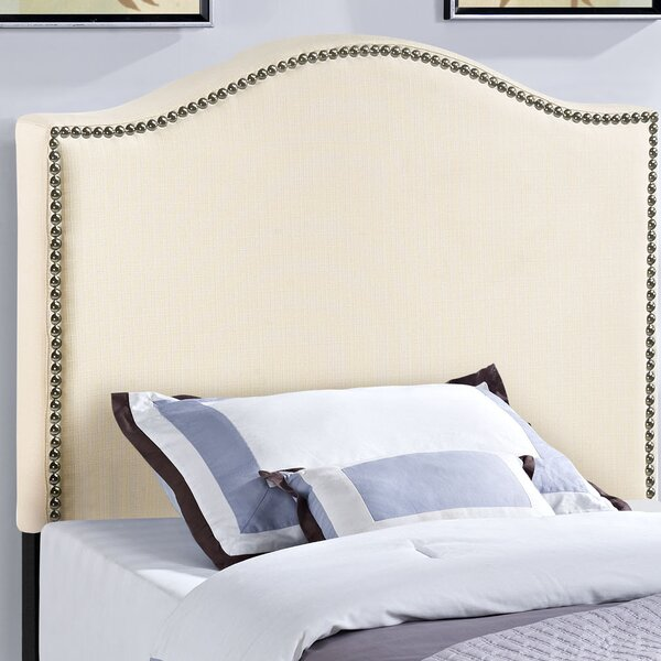 Bransford Curl Upholstered Headboard by Charlton H