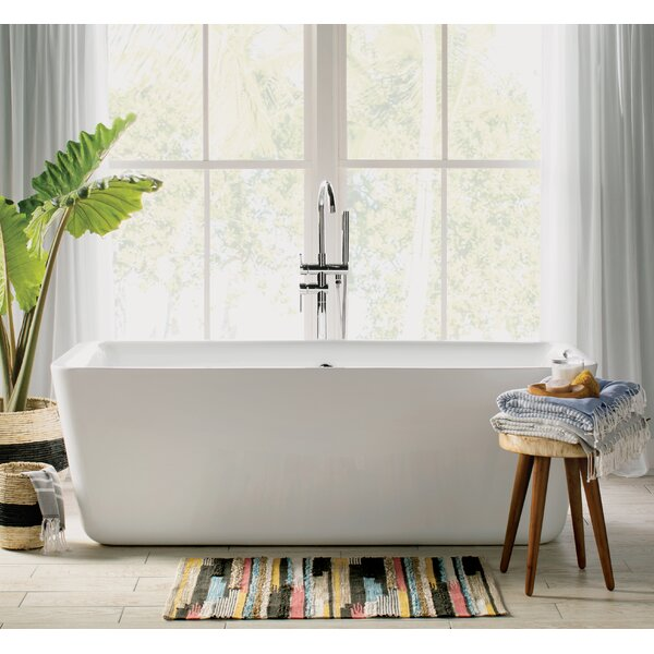 Laura 67 x 30 Soaking Bathtub by Wyndham Collection