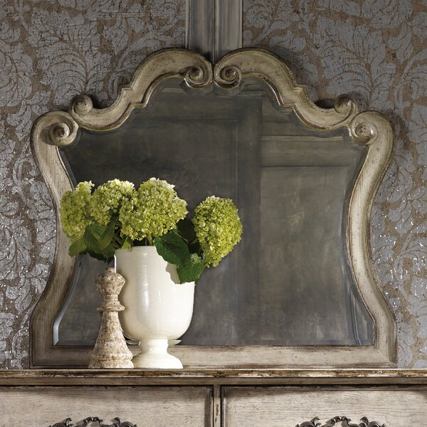 Chatelet Arched Dresser Mirror by Hooker Furniture