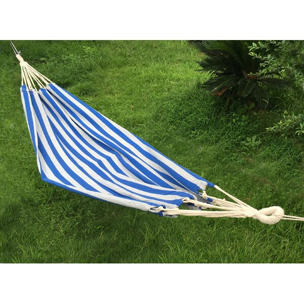 Cotton and Polyester Camping Hammock by Attraction Design Home