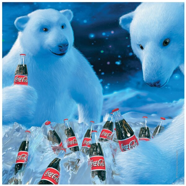 Coke Bears and Bottles Occasions Trivet by Thirstystone