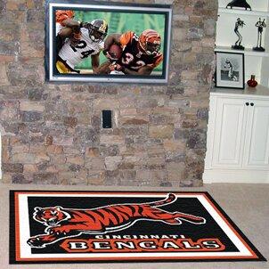 NFL - Cincinnati Bengals 5x8 Rug by FANMATS