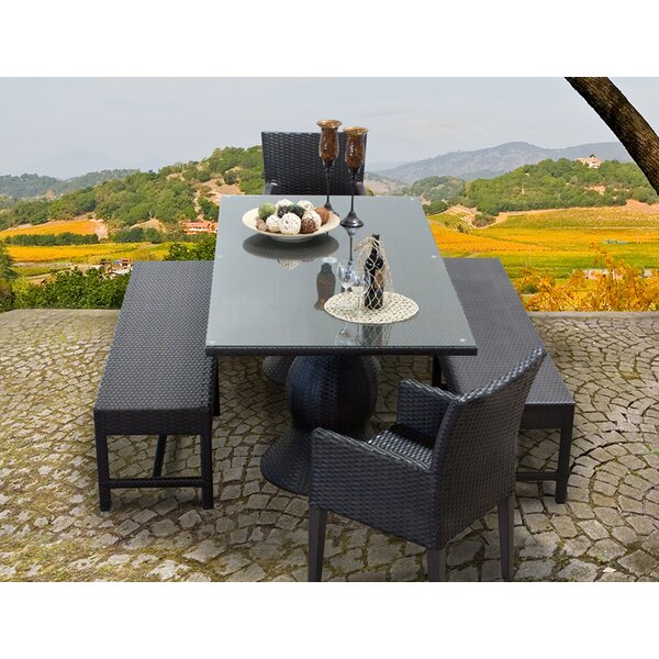 Napa 5 Piece Dining Set by TK Classics