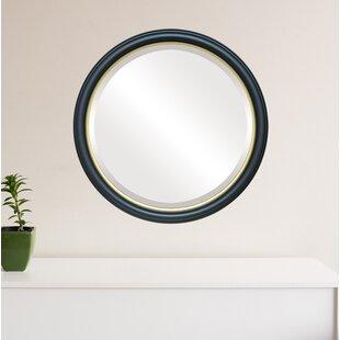 Wrought Studio Boatman Framed Round Accent Mirror