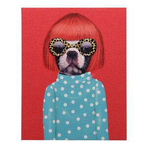 'Pets Rock™ Spots' Graphic Art Print on Wrapped Canvas by Empire Art Direct