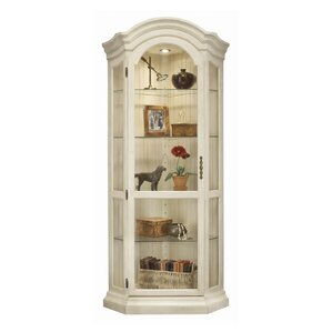 ColorTime Panorama Corner Curio Cabinet by Philip Reinisch Co.