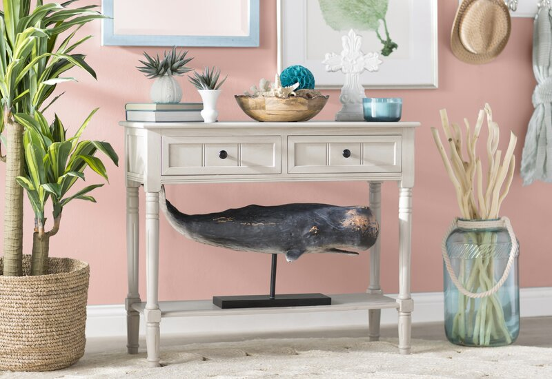 Manning 2 Drawer Console Table & Reviews   Joss & Main