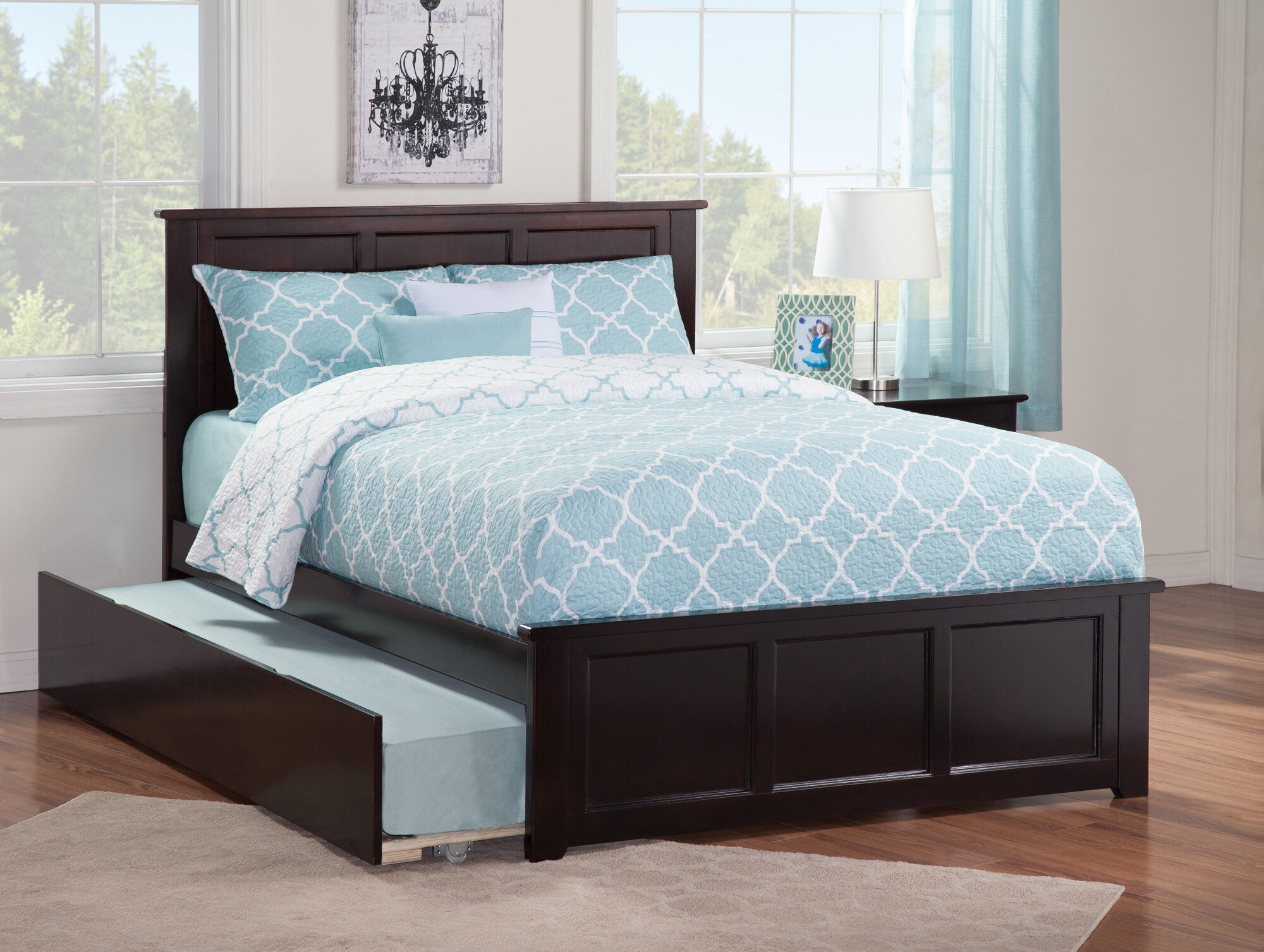 6e683b6f326fb Full Bed With Trundle