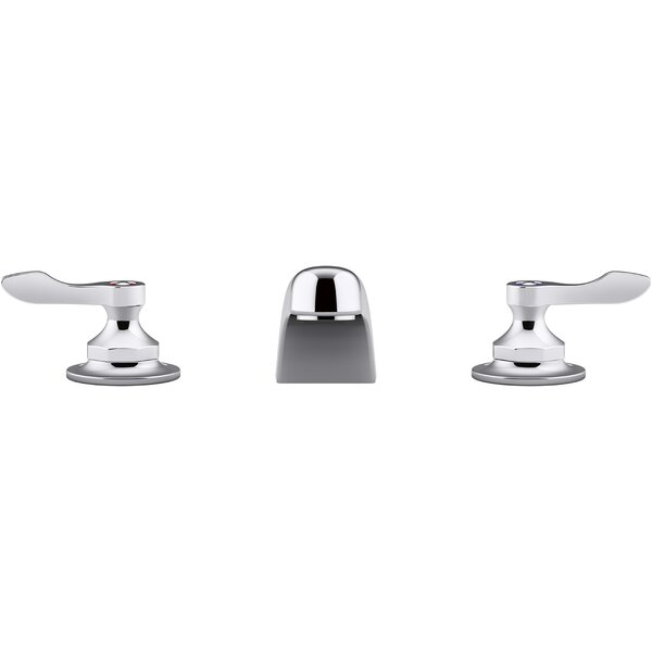 Triton Bowe 0.5 GPM Widespread Bathroom Sink Faucet With Aerated Flow And Lever Handles Drain Not Included By Kohler