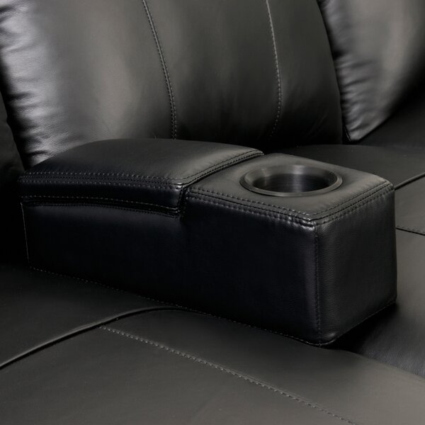 Outdoor Furniture Removable Leather Home Theater Storage Arm