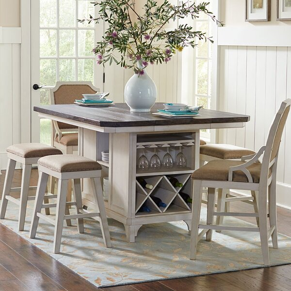 Georgetown Kitchen Island Set by Beachcrest Home