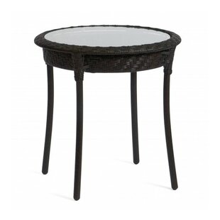 Best Reviews Barlow Round Side Table By Woodard