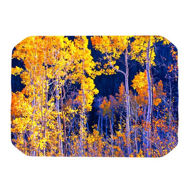Aspen Trees Placemat by KESS InHouse