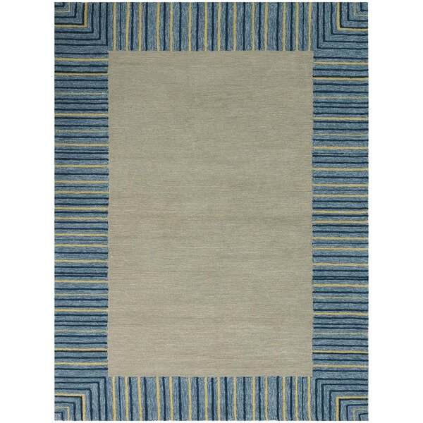 Oakham Blue Indoor/Outdoor Area Rug by Harriet Bee