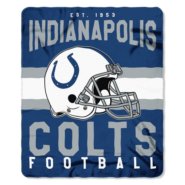 NFL Indianapolis Colts Printed Fleece Throw by Northwest