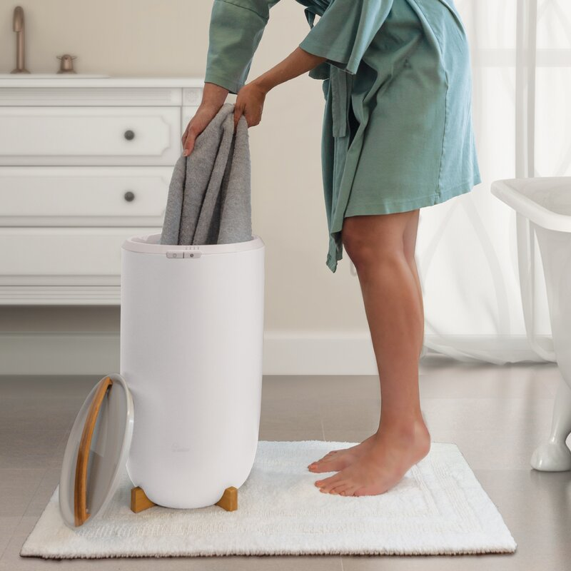Zadro Ultra Large Luxury Free Standing Electric Towel
