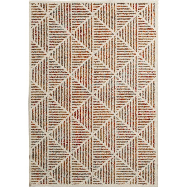 Palatine Martinsburg Ivory Area Rug by Bungalow Rose